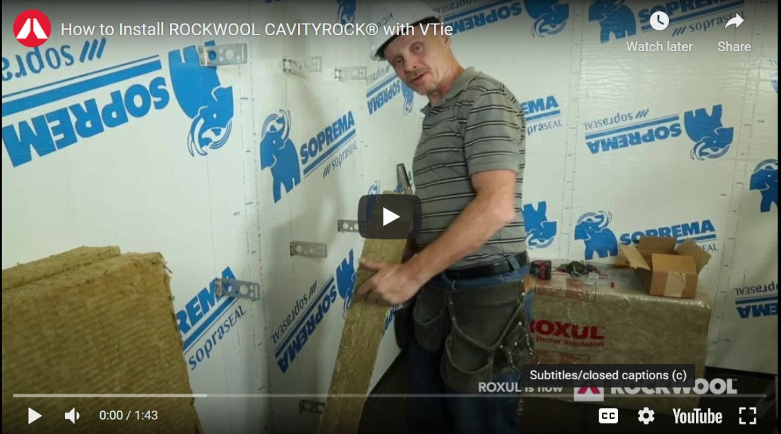 """Featured image for """"How to Install ROCKWOOL CAVITYROCK® with FERO V-Ties™"""""""