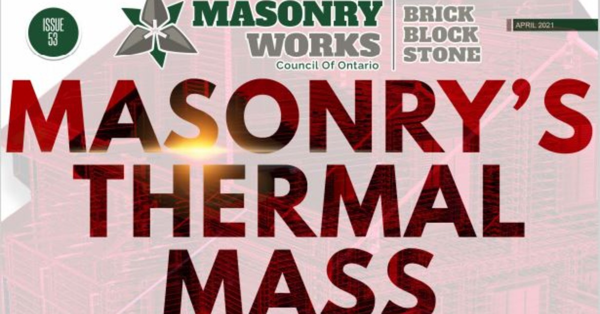 """Featured image for """"Masonry's Thermal Mass Properties & NYPH Webinar: 05-13-21"""""""