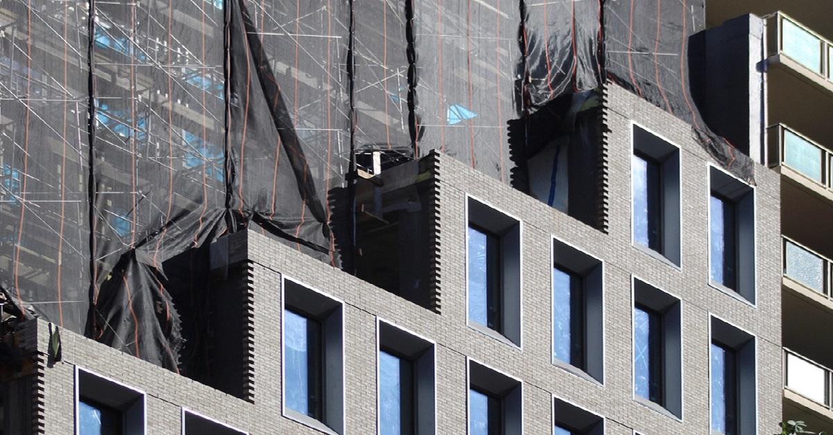 "Featured image for ""FÖRENA's Brick Façade begins to emerge in Manhattan"""